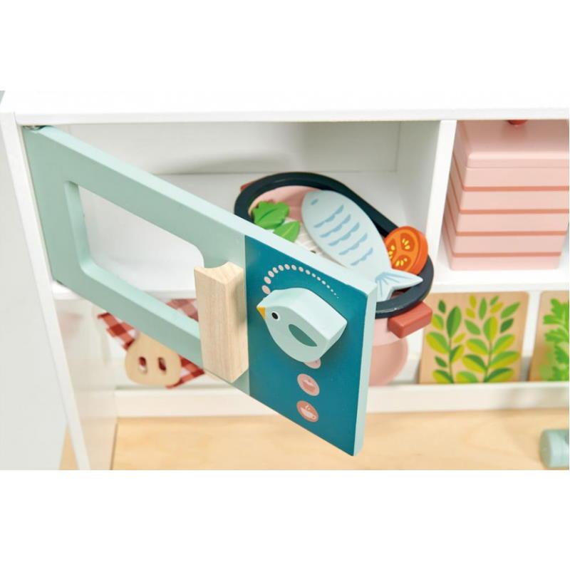 Mikrowelle Spiel Küche mintgrün