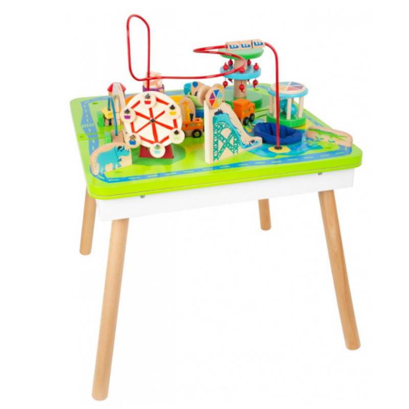 Spieltisch Spielseite nach oben sehr viel Spielmöglichkeiten
