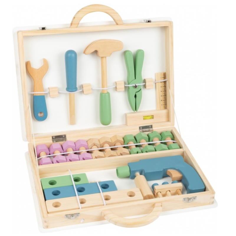 Holz Werkzeugkoffer für Kinder