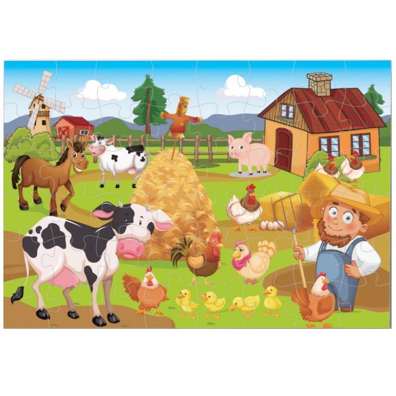 XXL Puzzle Bauernhof