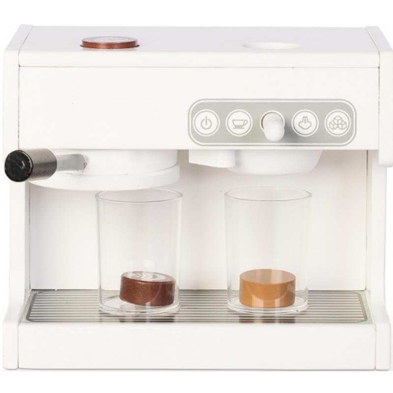 Kaffevollautomat aus Holz zum spielen