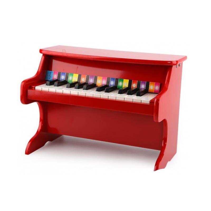 rotes Kinder Klavier