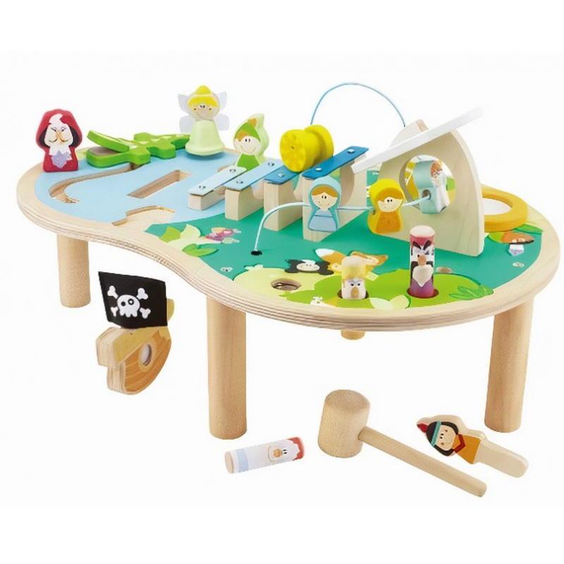 Musiktisch in Insel Stil viele Spielmöglichkeiten