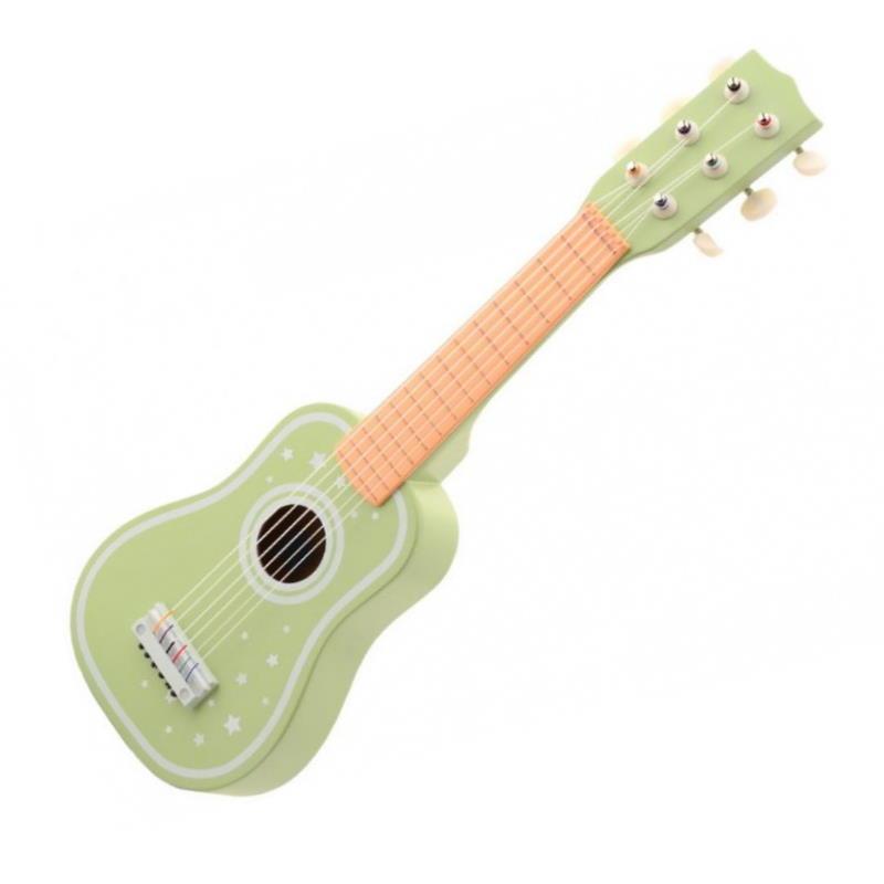 grüne Kinder Spielzeug Gitarre